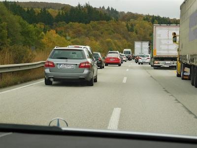 Stau A48 Koblenz